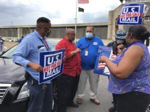 Memphis, TN postal protest